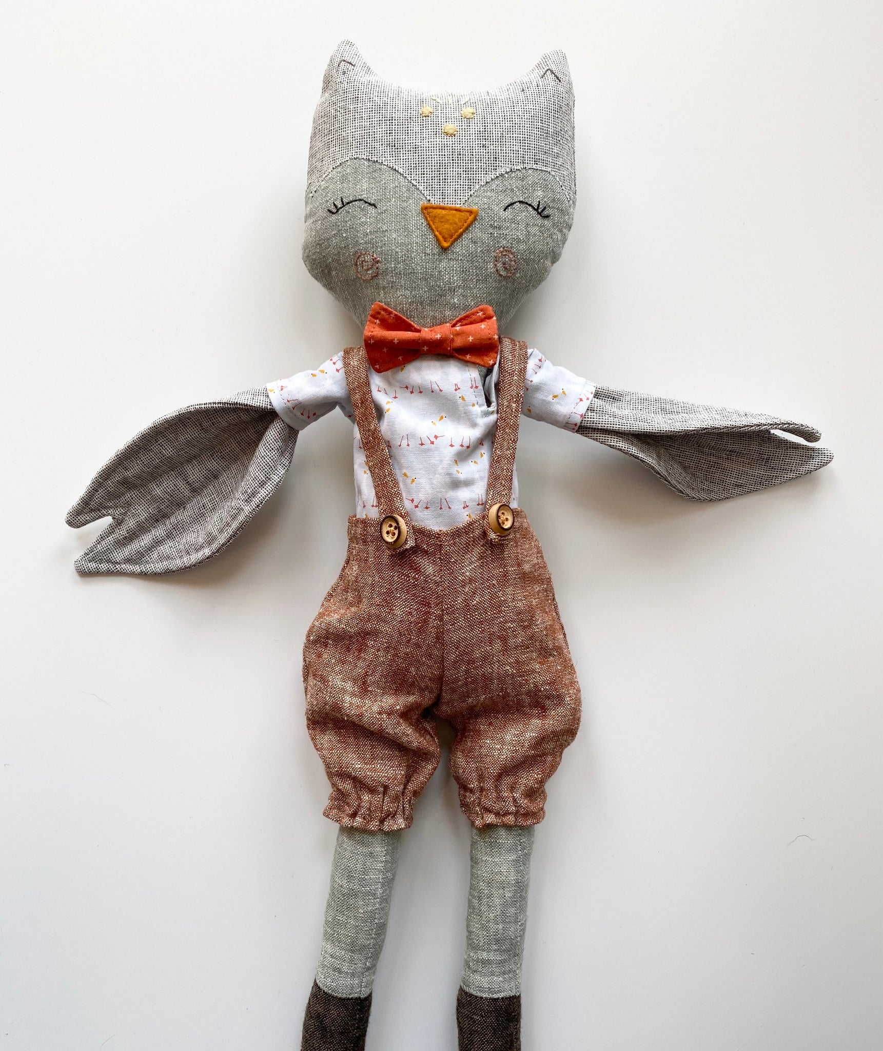 Heirloom Doll - Owl