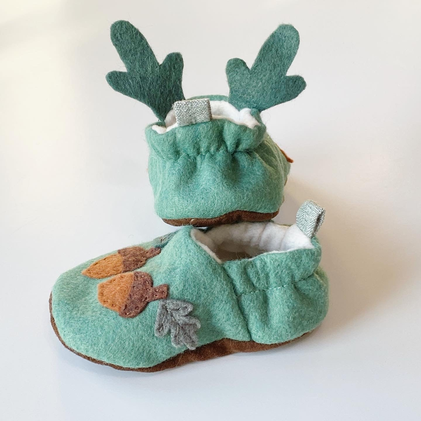 Hand Embroidered Deer Moccasins