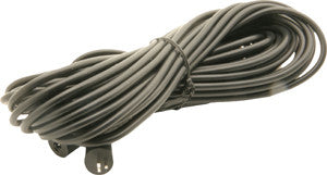 Univox Sofa loop cable, 2 turns, cable connector, 2-pin DIN, black, 8+10m