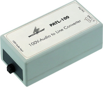 PATL-100, 100V-audio to line converter