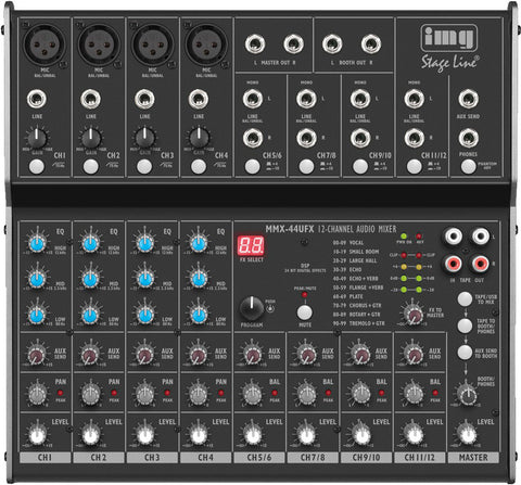 MMX-44UFX, Mixer, USB, 8 channels