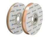 Copper foil tape (double) 2x 12.5mm wide x 100m         (Price Excludes VAT- In the trade? Contact us)