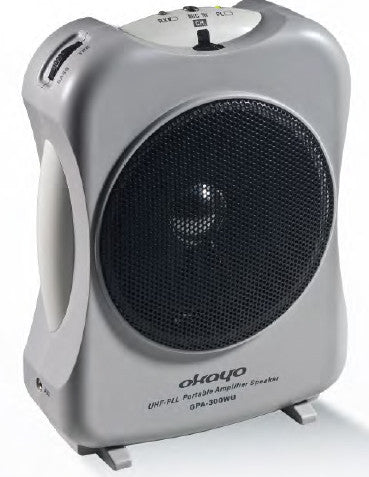 GPA-300 WU UK black, CB300, EJ-300LT, HM 20A 15W portable powered speaker with built in  receiver         Price Excludes VAT