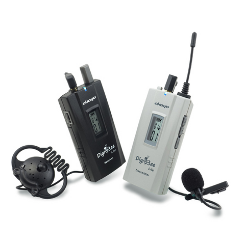 DigiBee Lite Okayo Transmitter incl. Tie Clip Microphone (Price Excludes VAT- In the trade? Contact us)