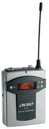 EJ-7XT belt pack Transmitter (863 - 865 MHz)