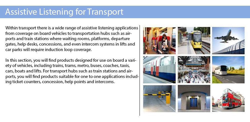 Hearing Loops for Transport