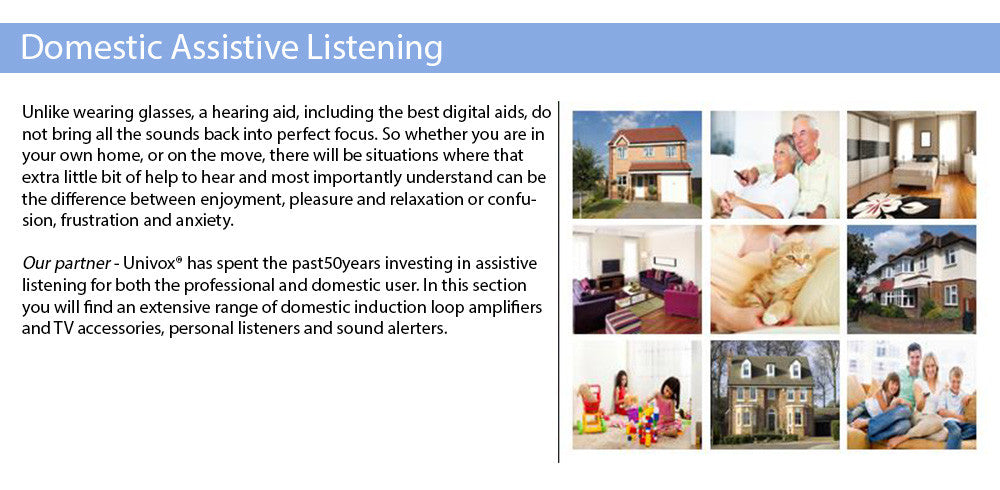 Domestic Assistive Listening