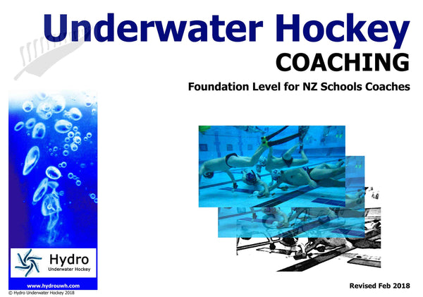 Foundation Coaching for Schools - PDF download Resources - Hydro Underwater Hockey