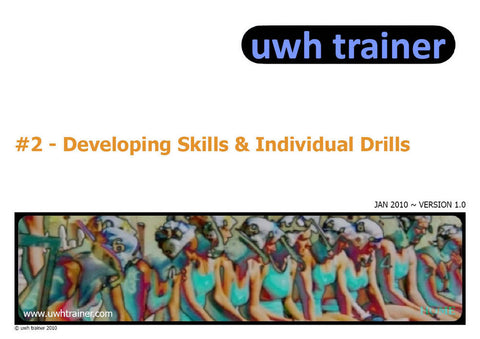 UwhTrainer 2 - Skills - PDF download Resources - Hydro Underwater Hockey