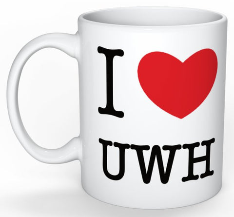 I Heart Uwh Mug Accessories - Hydro Underwater Hockey