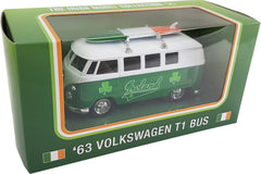 61056 Volkswagen Camper Van With Tricolour Surfboard