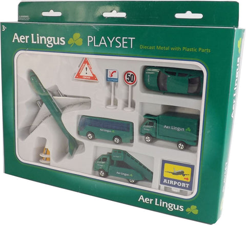 Diecast Models Of Ireland AL75630 Aer Lingus Airport Playset