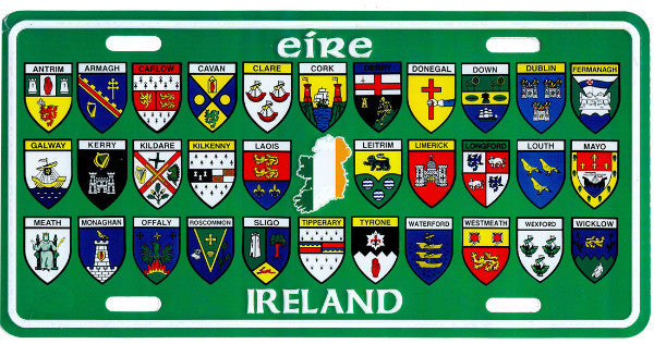 American Reg Plate ARP12 32 Irish County