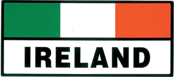 Sticker AS18 Tricolour rectangle