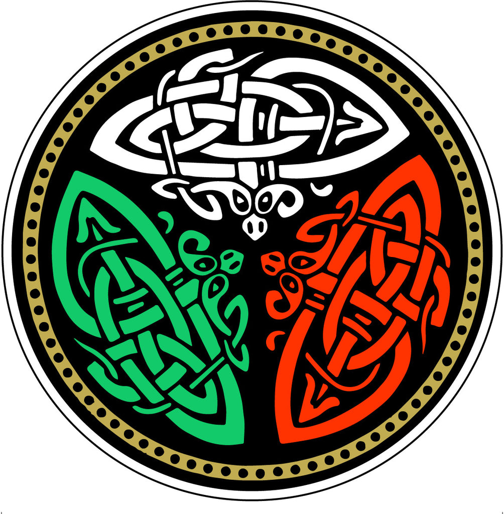 Stickers AS53 Celtic Design Round