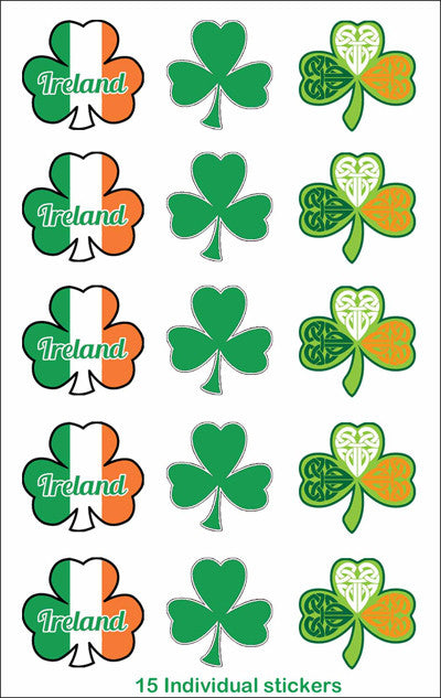 Sticker AS55 Shamrock Peel and Stick