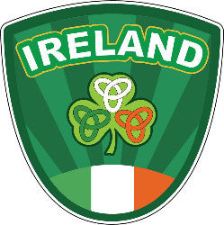 Sticker AS80 Crest brand Ireland