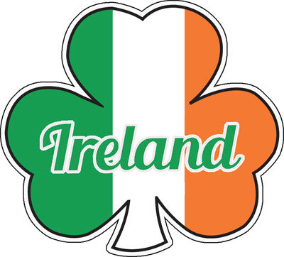 Sticker AS95 Tricolour Shamrock