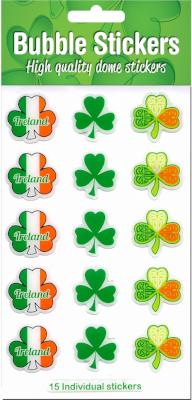Bubble Sticker BS04 Multi shamrock