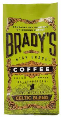 Brady's Coffee Celtic Blend 227g Of Ground Coffee