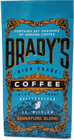 Brady's Coffee Signature Blend 227g Of Ground Coffee
