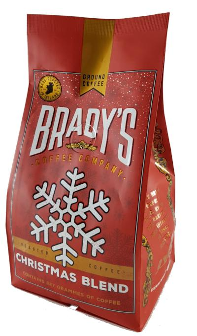 Brady's Christmas Blend Coffee 227g Bag