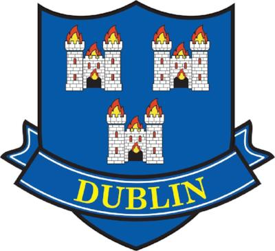 Embroidered Patch County Dublin