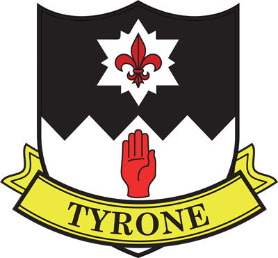 County Sticker CC28 Tyrone