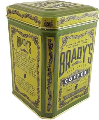 Brady's Coffee Celtic Blend Tin 227g Ground coffee