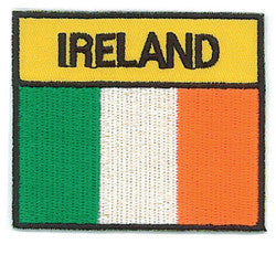 Embroidered Patch EB05 Tri Colour Flag