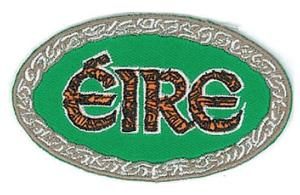 Embroidered Patch EB10 Eire Oval