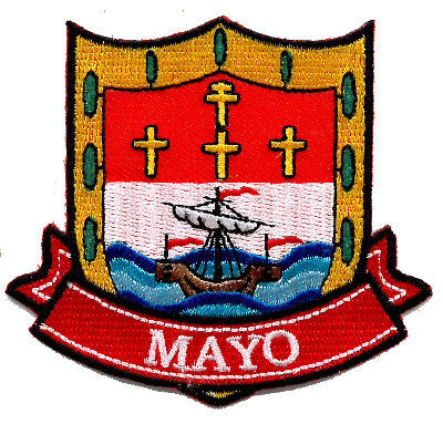 Embroidered Patch County Mayo