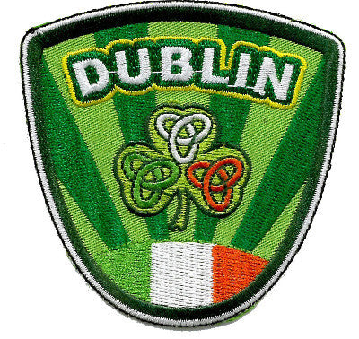 Embroidered Patch EB66 Crest Ireland Dublin