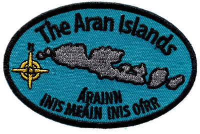 Embroidered Patch Aran Islands