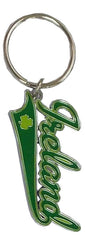 KR04 Ireland Text Metal Keyring