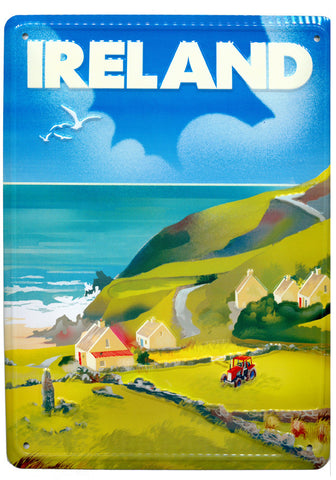 Vintage Wall Signs Of Ireland MWS004 Ireland County.