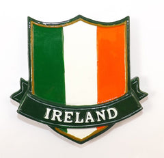 RM10 Tricolour Crest Resin Fridge Magnet