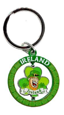 Spinner Keyring SPK004 Leprechaun Head