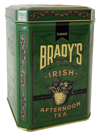 Brady's Afternoon Tea in a Tin 40 Tea bag
