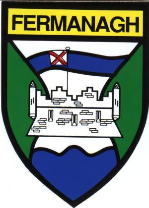 Embroidered Patch County Fermanagh