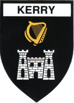 Embroidered Patch County Kerry