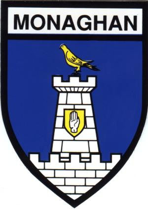 Embroidered Patch County Monaghan
