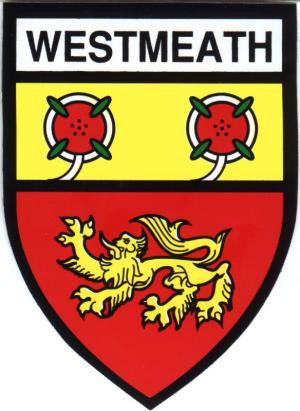 County Sticker CC30 Westmeath