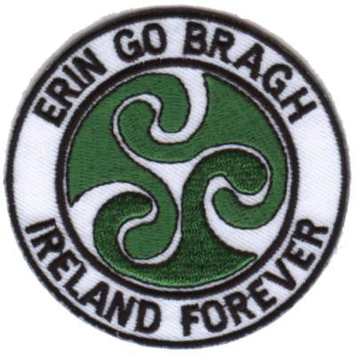 Embroidered Patch EB11 Erin Go Bragh