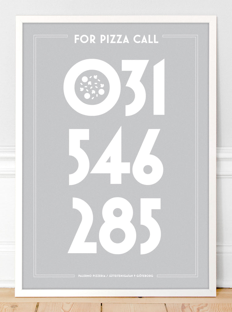 For Pizza Call