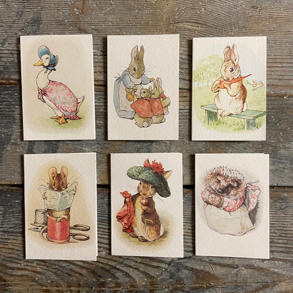 Miniature Beatrix Potter Greeting card - Homeware Store