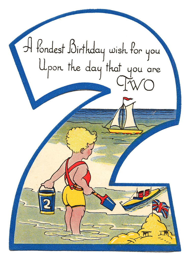 2 at Sea - Birthday Card - closetandbotts