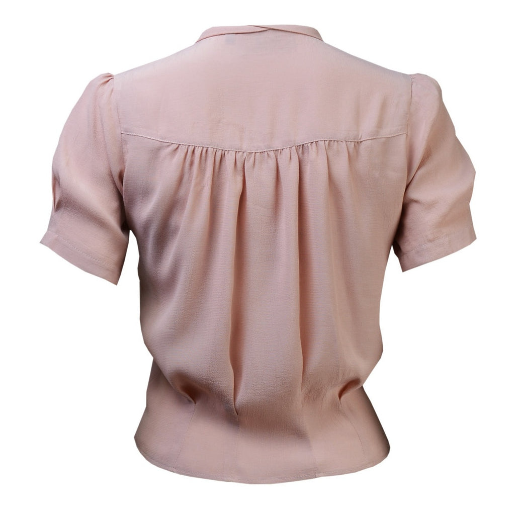 1930's Blouse - Blush Pink