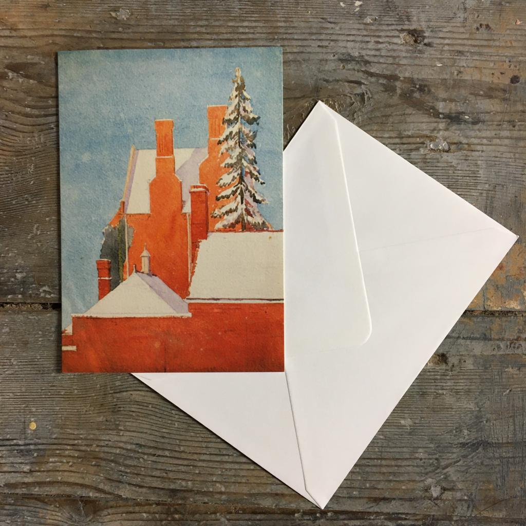 Traditional Christmas card pack - Snow on the Rooftop - Closet & Botts