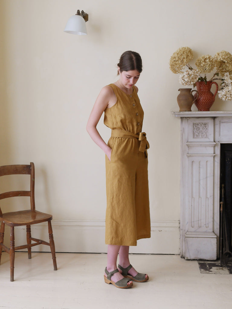 Culotte Jumpsuit - Amber | Gifts for Her
